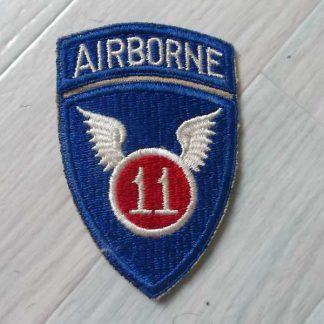 Insigne original 11° AIRBORNE DIVISION (tab attaché)