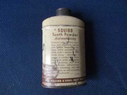 Poudre dentaire SQUIBB (10cm)