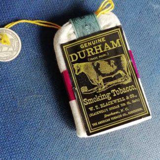Paquet de tabac DURHAM de 1944
