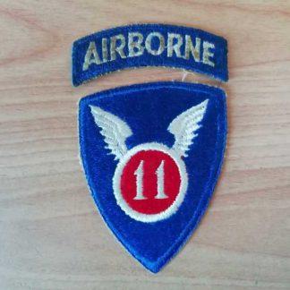 Insigne original 11° AIRBORNE DIVISION (tab détaché)