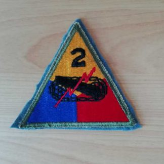 Insigne original 2° ARMORED DIVISION