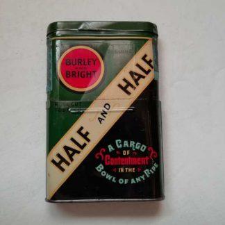 Boite de tabac telescopique en tole HALF and HALF