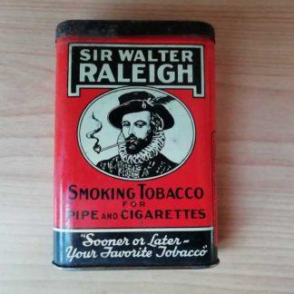 Boite de tabac en tole RALEIGH