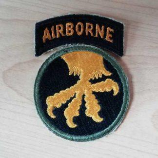 Insigne original 17° AIRBORNE DIVISION (tab détaché)