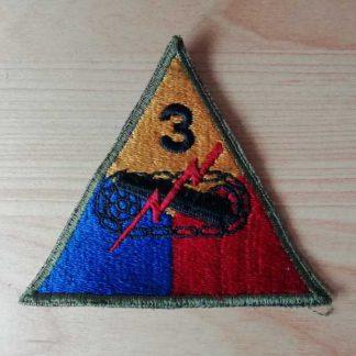Insigne original 3° ARMORED DIVISION