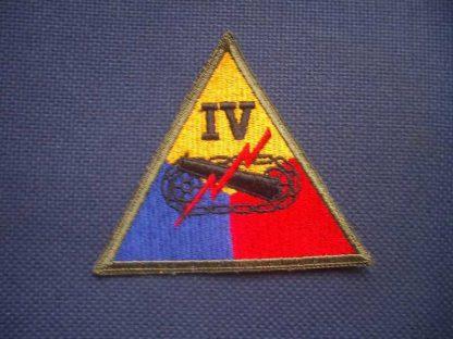 Insigne original 4° ARMORED CORPS