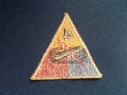 Insigne original 4° ARMORED DIVISION