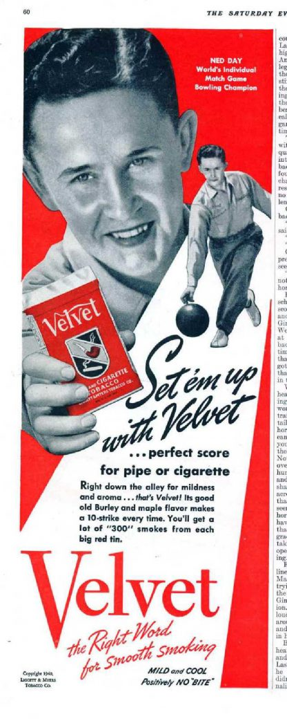 Boite de tabac en tole VELVET