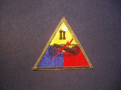 Insigne original 2° ARMORED CORPS