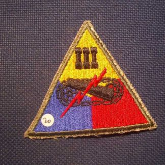 Insigne original 3° ARMORED CORPS