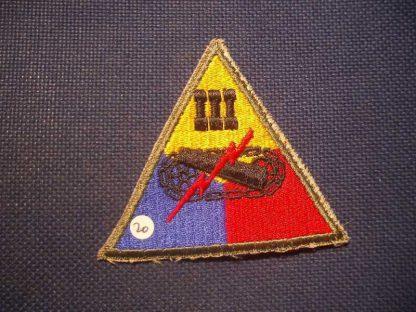 Insigne original 3° ARMORED CORPS
