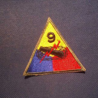 Insigne original 9° ARMORED DIVISION