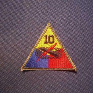 Insigne original 10° ARMORED DIVISION
