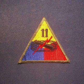Insigne original 11° ARMORED DIVISION