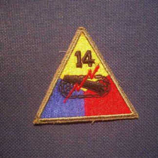 Insigne original 14° ARMORED DIVISION