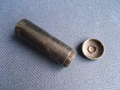 Tube plastique noir pour pilules (pour insert de musette)