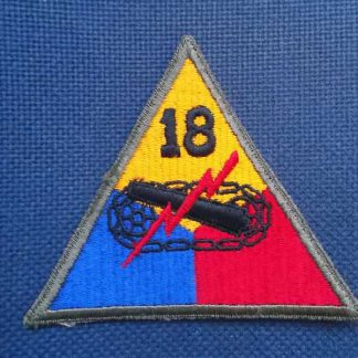 Insigne original 18° ARMORED DIVISION (not active)