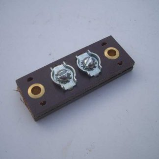 Barrette 6 volts 2 bornes
