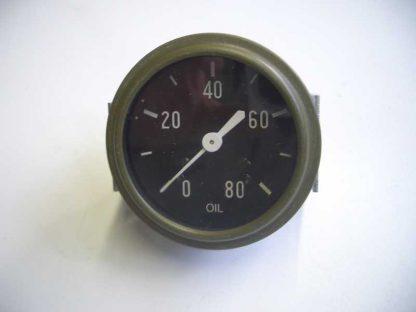 Manomètre de pression d'huile