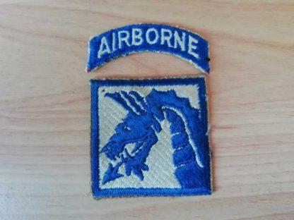 Insigne original 18° ARMY CORPS AIRBORNE