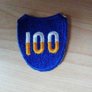 Insigne original 100° INFANTRY DIVISION