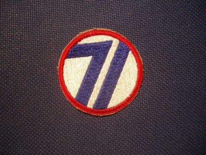 Insigne original 71° INFANTRY DIVISION