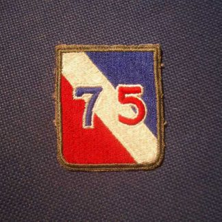 Insigne original 75° INFANTRY DIVISION