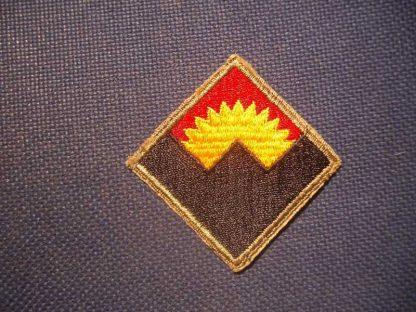 Insigne original ANTIAIRCRAFT WESTERN COMMAND