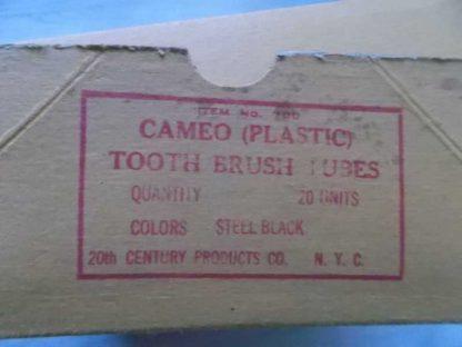 Etui de brosse à dents noir