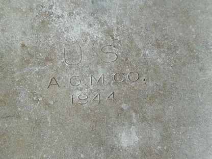 Gourde US en aluminium datée 1944