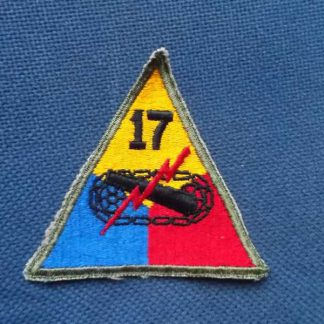 Insigne original 17° ARMORED DIVISION (not active)
