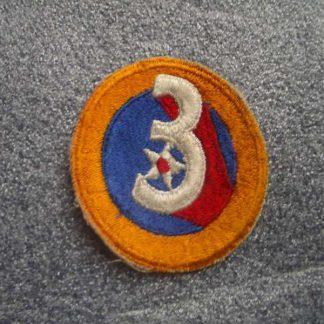 Insigne original 3° AIR FORCE