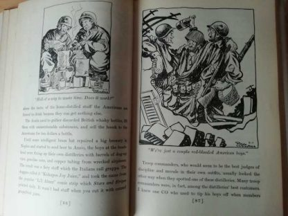 "Livre original ""UP FRONT"" de Bill MAULDIN de 1945"