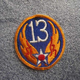 Insigne original 13° AIR FORCE