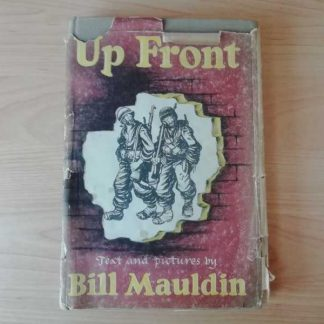 "Livre original ""UP FRONT"" de Bill MAULDIN de 1945"