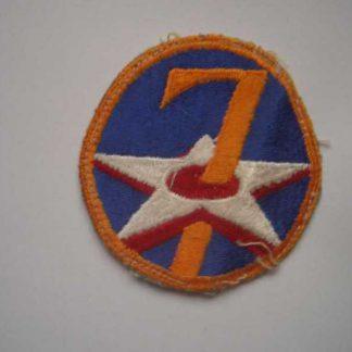 Insigne original 7° AIR FORCE