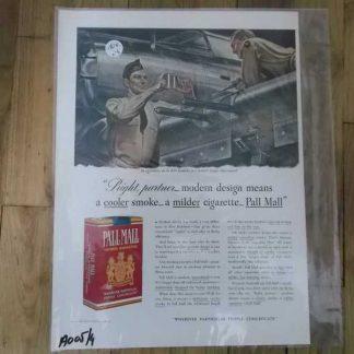 PUB originale PALL MALL datée 1941