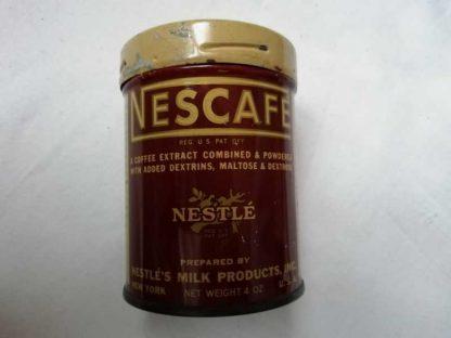 Boite de NESCAFE 8 cm (avant 1943)