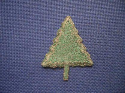 Insigne original 91° INFANTRY DIVISION (green back)