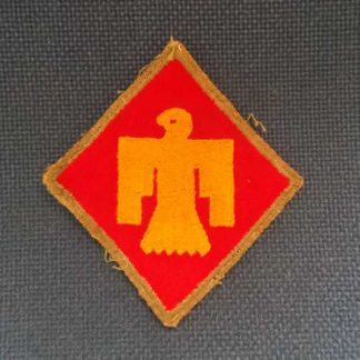 Insigne original 45° INFANTRY DIVISION (bordure OD)