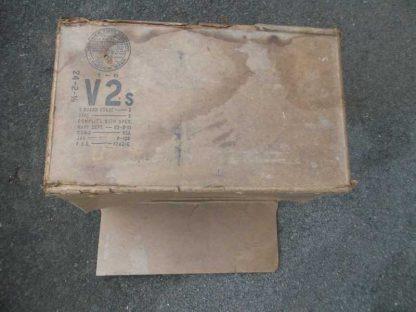 Carton de ration US original daté 1945