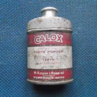 Poudre dentaire CALOX (7 cm)