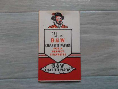 Paquet de feuilles à cigarette B & W