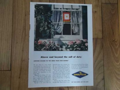 PUB originale GOOD YEAR de 1945