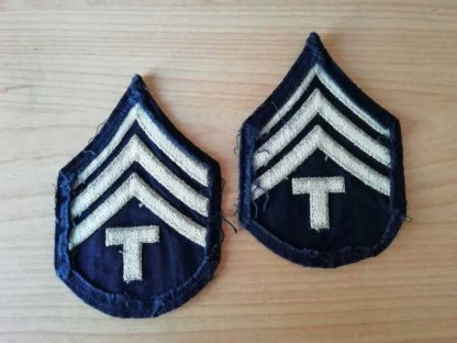 Chevrons de TECHNICAL SERGEANT 4th grade (kaki clair)