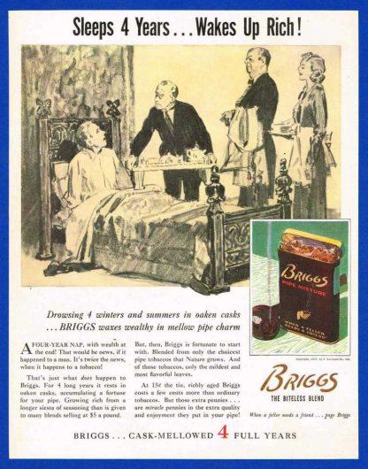 Boite vide de tabac BRIGGS