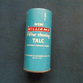 Talc après rasage WILLIAMS (11cm)