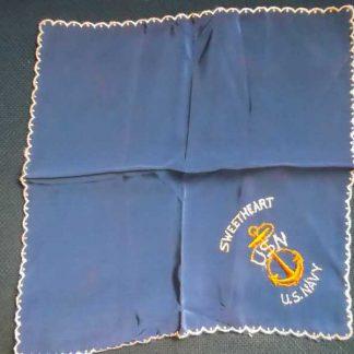 Mouchoir original US NAVY de PX (bleu)