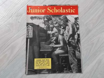 Magazine JUNIOR SCHOLASTIC du 2 octobre 1944
