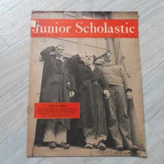 Magazine JUNIOR SCHOLASTIC du 13 novembre 1944
